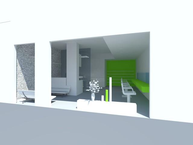 rendering salone