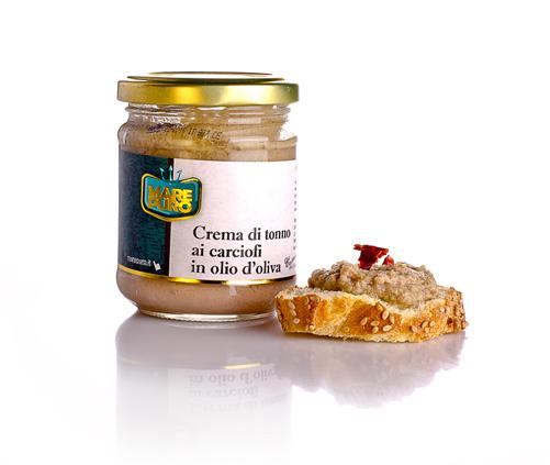 crema di carciofi in olio doliva