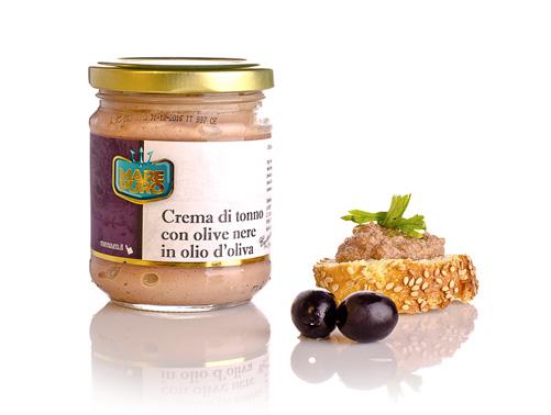 crema di tonno con olive nere